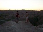 Sunset, Badlands